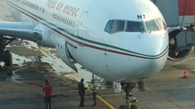 Yolcu uçağını su bastı !