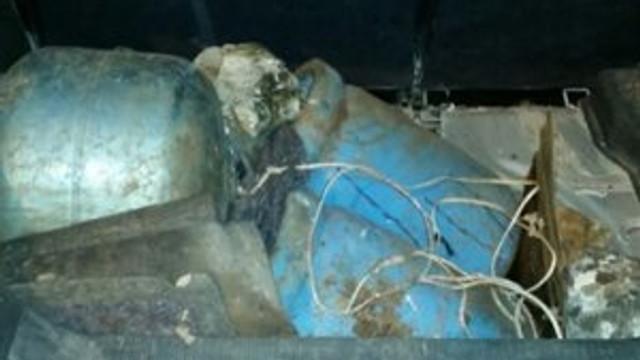 Büyük bir faciadan dönüldü: Bomba yüklü 7 araçla yakalandı