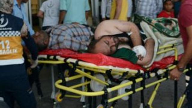 Yaralanan 14 ÖSO mensubu Kilis'e getirildi !