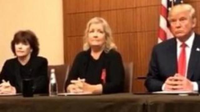 Clinton'ı suçlayan kadınlarla kamera karşısında