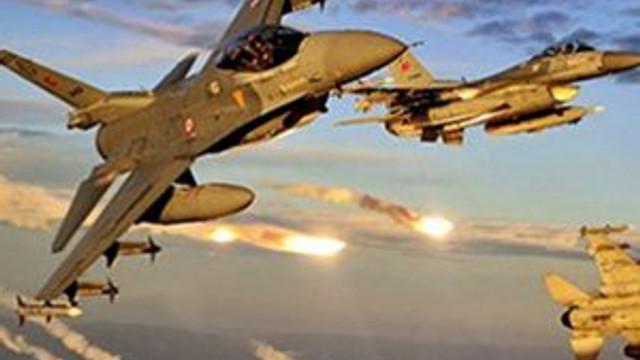 TSK'dan hava harekatı: 5 PKK'lı öldürüldü