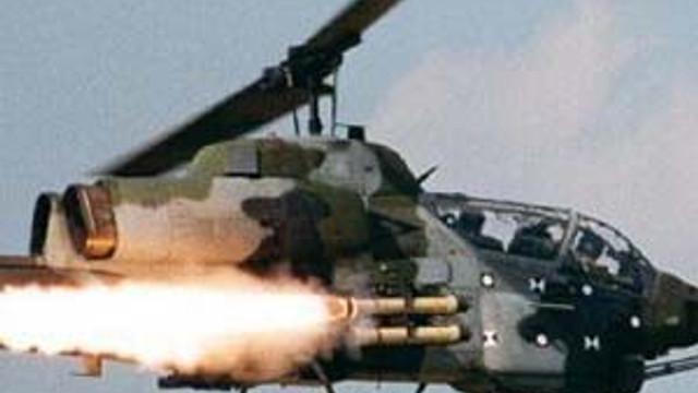 3 bombalı araç helikopterle imha edildi