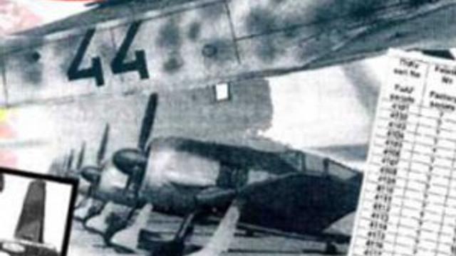 Gömülü savaş uçakları gün yüzüne çıkıyor !