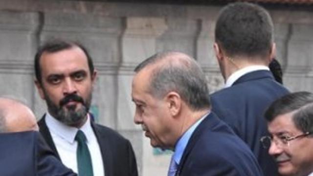 Erdoğan ile Davutoğlu yan yana