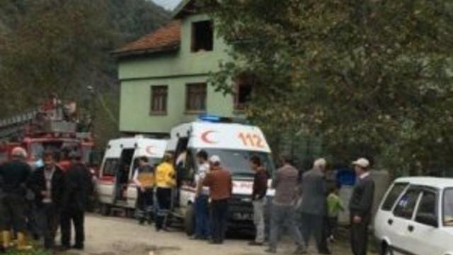 Evdeki yangında 2 çocuk hayatını kaybetti