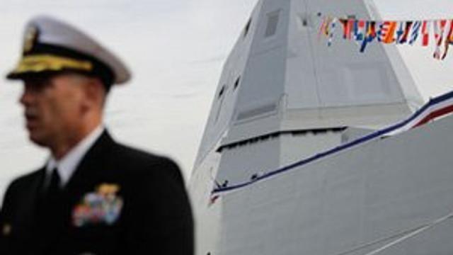 ABD'nin hayalet gemisi suya iniyor