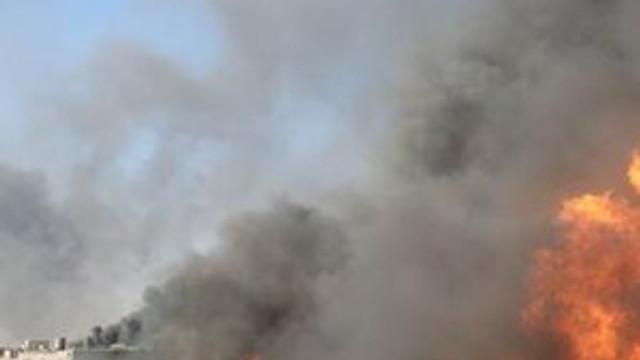 DEAŞ, petrol kuyularını ateşe verdi