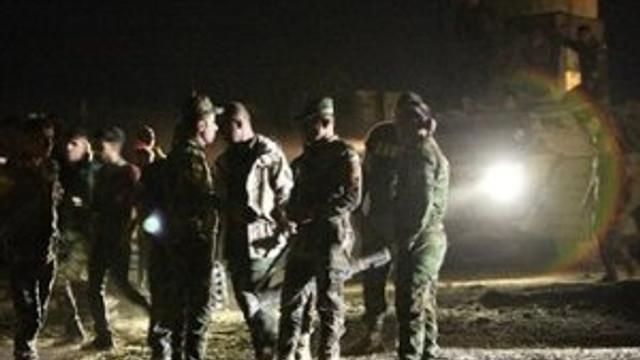Amerikan askerleri oraya konuşlandı