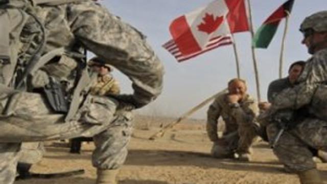 Kanada askerleri de Musul'da
