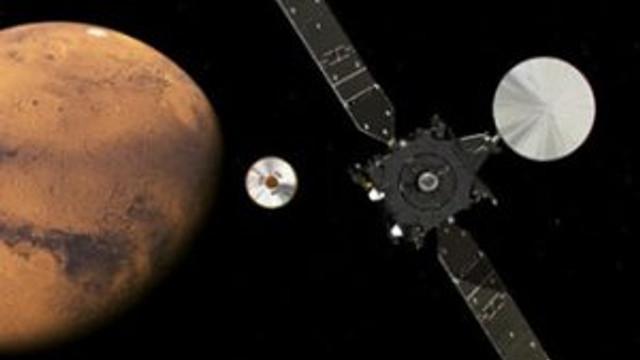 Rusya ve AB'nin uzay aracı Mars'ta