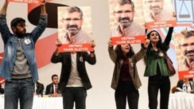 İstanbul Barosu seçiminde Tahir Elçi protestosu