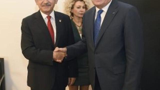 Kılıçdaroğlu, Ayrault ile görüştü