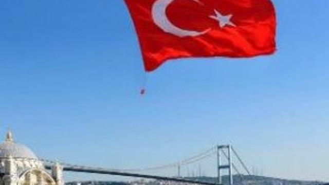 Dev Türk Bayrağı'na izin çıkmadı