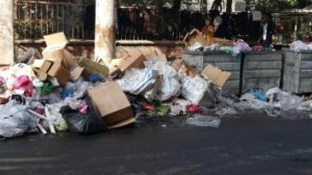 Diyarbakır 'çöp kente' döndü