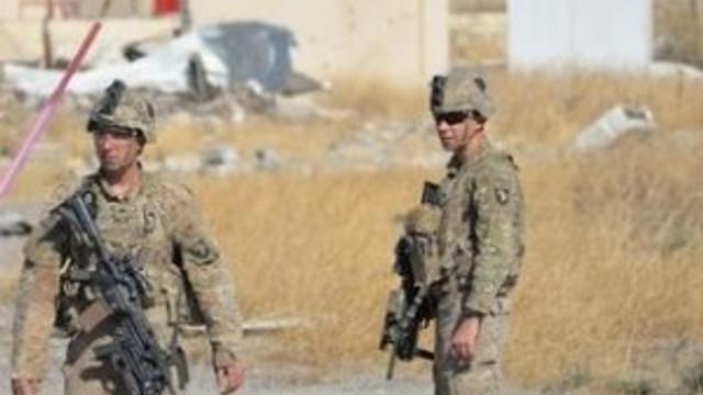 İlk kez görüntülendiler; ABD askerleri Musul operasyonunda