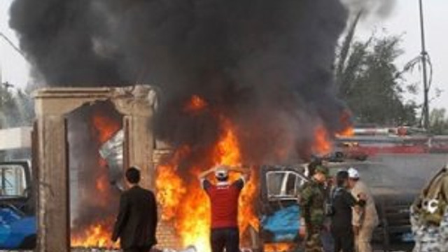 Irak'ta patlama: 8 ölü 30'dan fazla yaralı