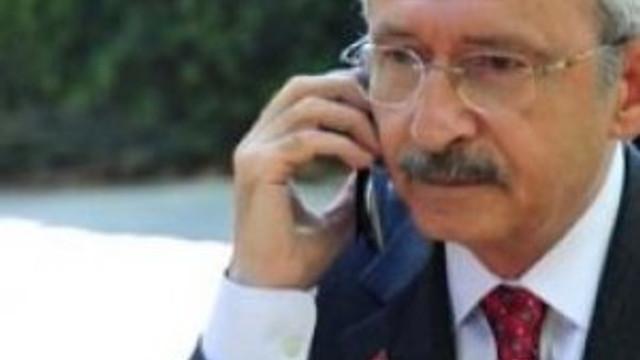 Kılıçdaroğlu'nda ''geçmiş olsun'' telefonu