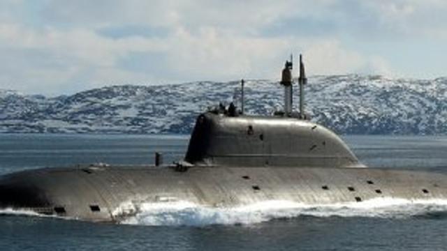 Rus nükleer denizaltısı Akdeniz'de !