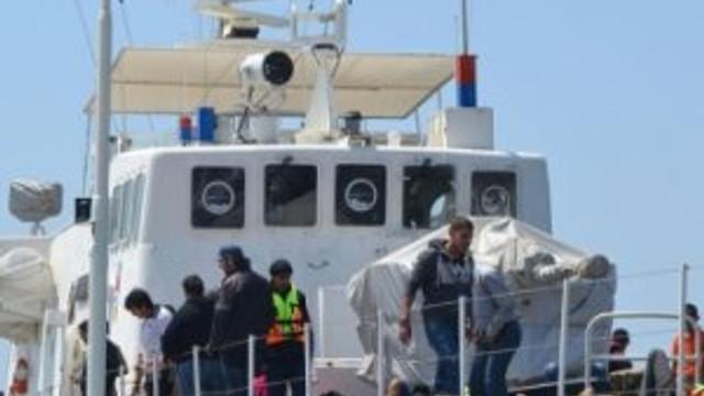 8 Afgan kaçak yakalandı