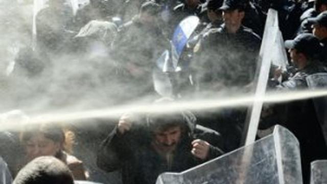 Birçok ilde HDP protestosuna polis müdahalesi