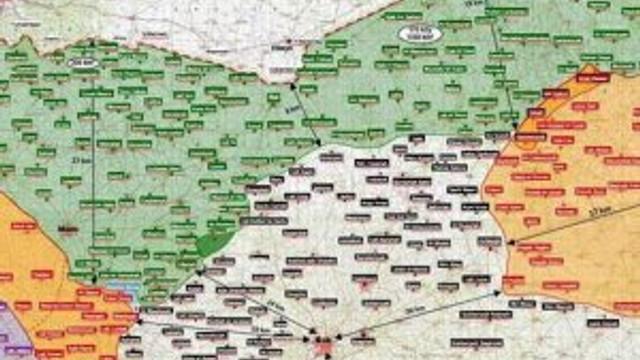 TSK ilk kez harita yayınladı