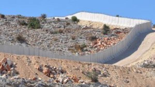 Sınır hendeli duvarla kapanacak