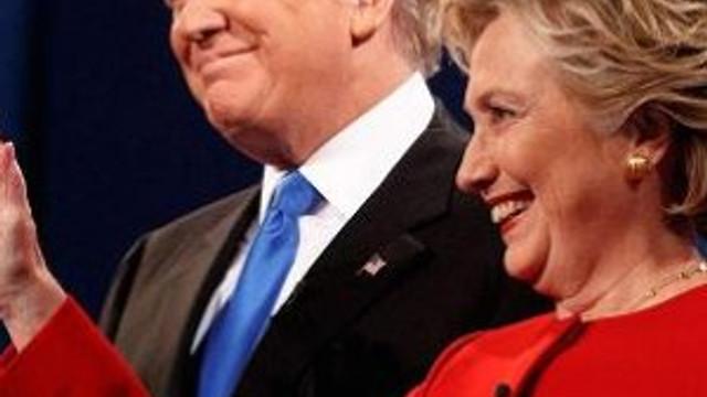 Son ankette Clinton öne geçti