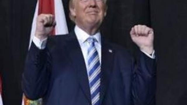 Trump'ın zafer konuşması