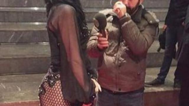 Hande Yener'in derin dekoltesini böyle eleştirdi