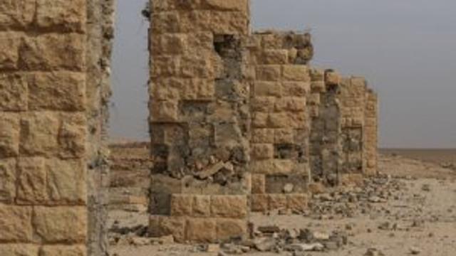 IŞİD'in yıktığı kent bu hale geldi