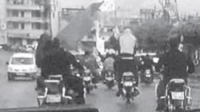 DEAŞ Gaziantep sokaklarında tur atmış !