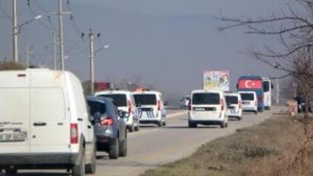 Alaattin Çakıcı'ya 15 araçlık konvoy