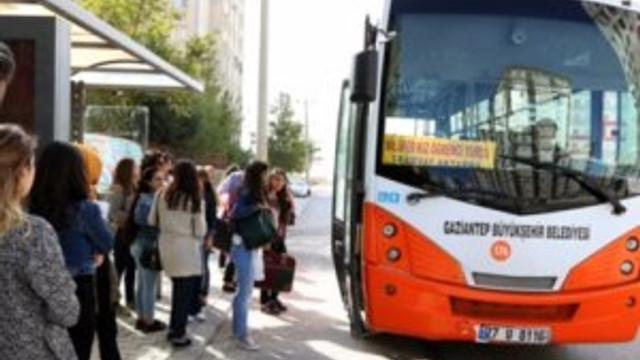 Gaziantep Büyükşehir'den otobüslere yeni hat
