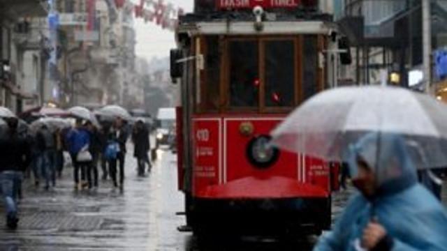 AKOM'dan İstanbul'a yağış uyarısı