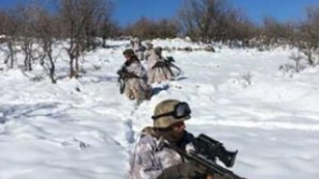 Tunceli'de yıllardır girilmeyen bölgede operasyon