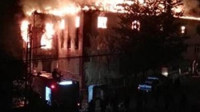 Adana'daki yangına yayın yasağı