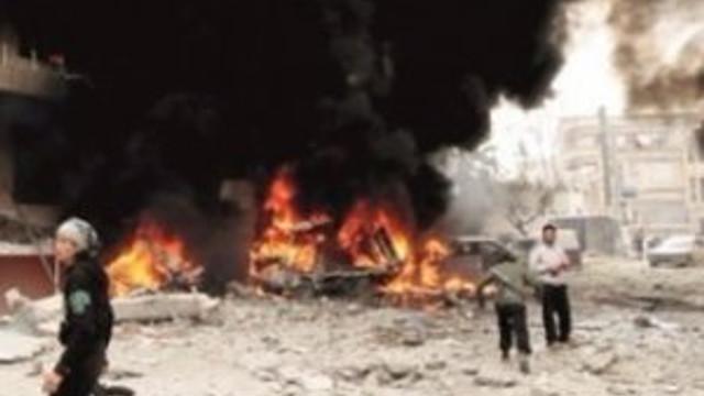 İsrail füzeleri Suriye'yi vurdu