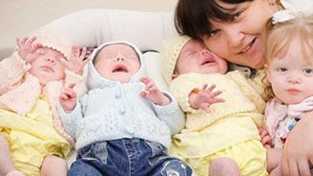 Herkes onu konuşuyor: 11 ayda 4 çocuk doğurdu