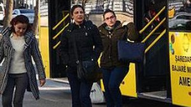 Diyarbakır'da kadınlara toplu taşımada 'pozitif ayrımcılık'