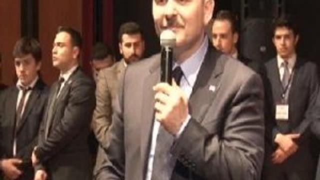 Bakan'ı böyle karşıladılar: Yaşa Süleyman Soylu Paşa yaşa..