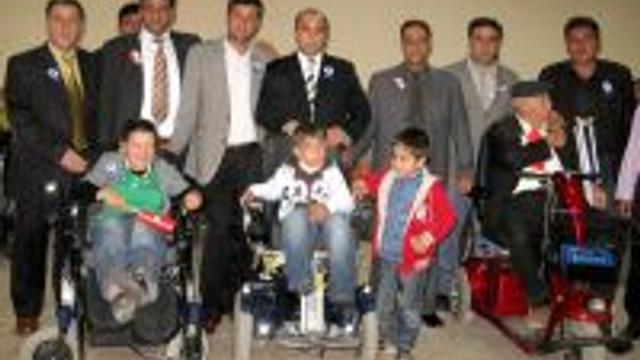 'TOPLAYALIM, ENGELLİLERE UMUT OLALIM' PROJESİ