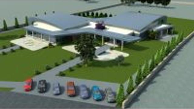 Ödemiş Belediyesinin Yeni Nikah Ve Düğün Salonu Kompleksinde Temel Atıldı