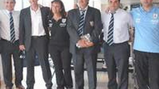 Uruguay U20 Takımı İstanbul'da
