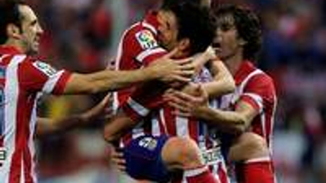 Atletico fark attı !