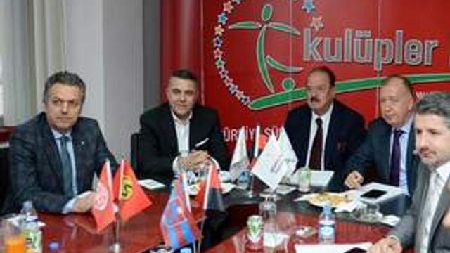 Kulüpler Birliği İstanbul'da toplandı