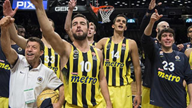 Fenerbahçe ABD'de Brooklyn Nets'i devirdi
