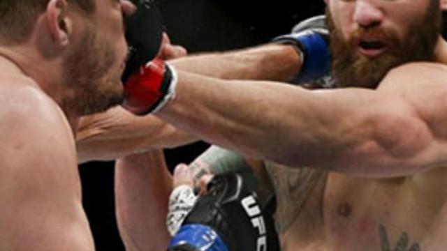 UFC dövüşünde dehşet olay !