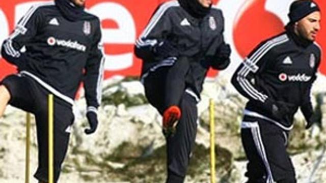 Beşiktaş kupa maçı hazırlıklarını tamamladı