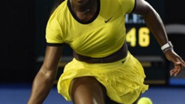 Avustralya Açık'da Serena fırtınası !