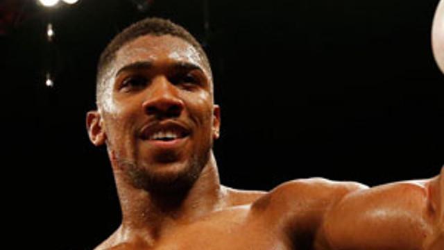 Joshua, Muhammed Ali'ye gidiyor